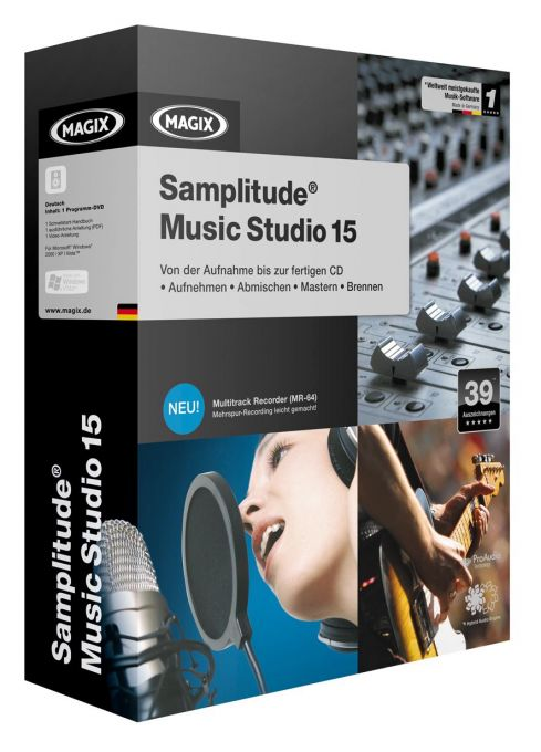 Samplitude Music Studio - The music production software that can do it all