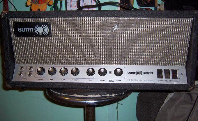 Sunn Sceptre Amp Head Vinyl Amplifier Cover Sunn018 Ebay